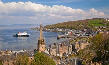 Rothesay on the Isle of Bute.