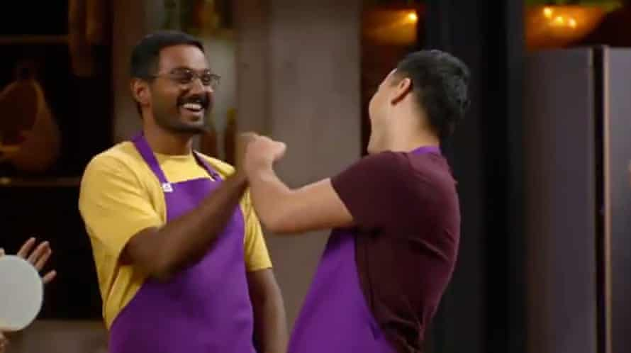 Contestants fist bump in MasterChef
