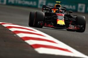 Verstappen wins the race.