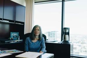 Kathleen Sgamma her Denver office.