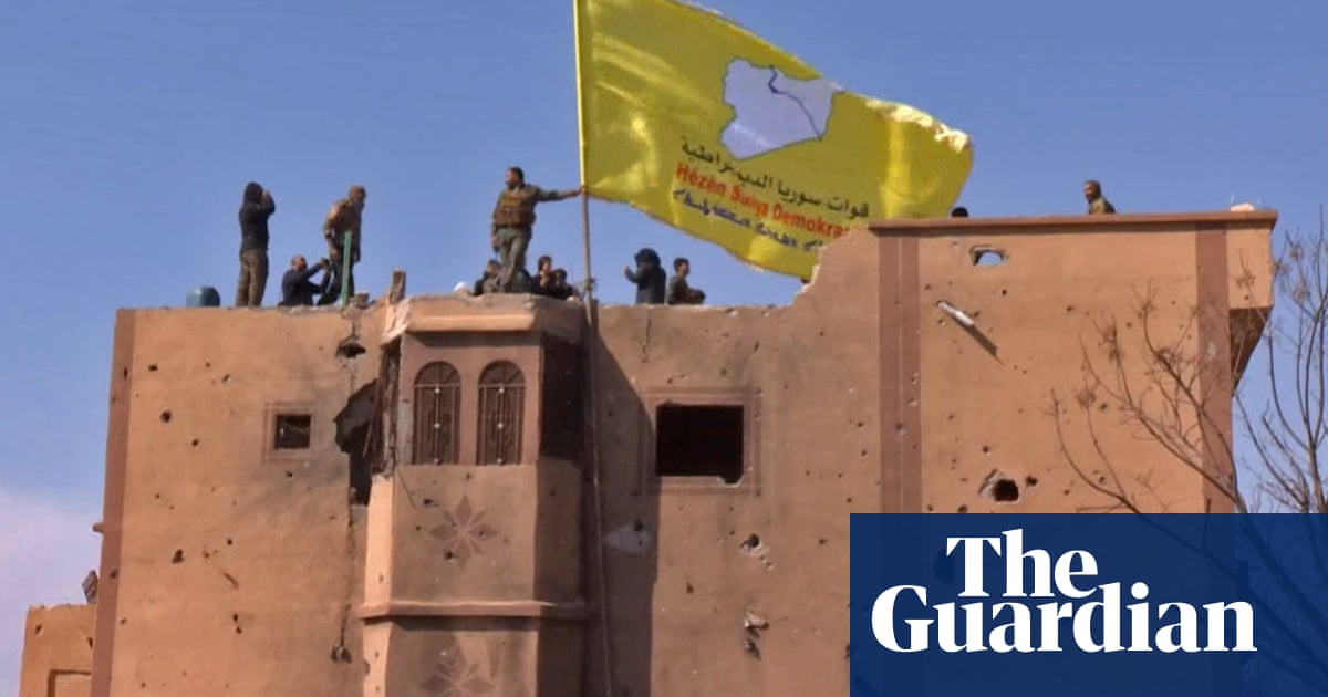 Isis defeated, US-backed Syrian Democratic Forces announce | World news | The Guardian