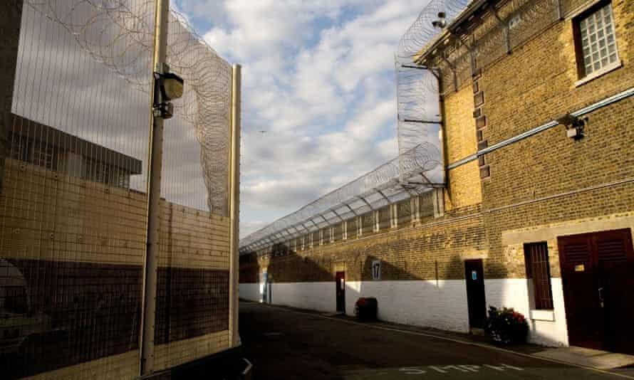 Exterior of Wandsworth prison