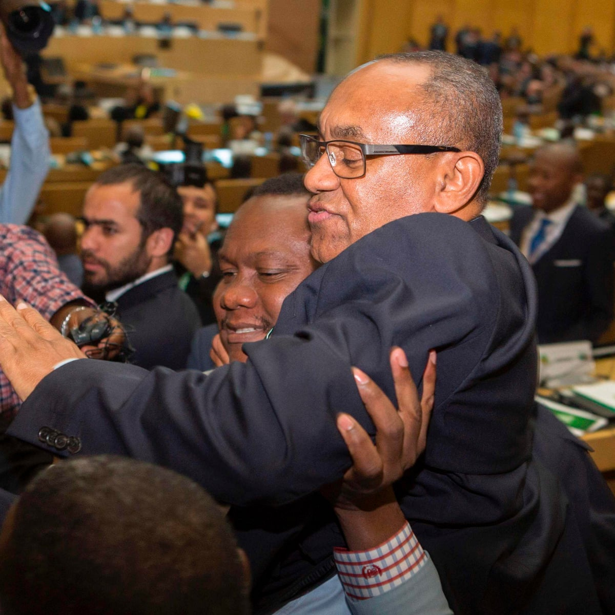 Issa Hayatou deposed after 29 years as Caf president by Ahmad Ahmad |  Football politics | The Guardian