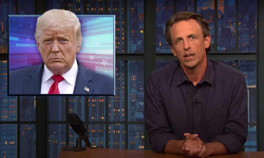 Seth Meyers: 'He probably thinks anyone who dies is a sucker.'