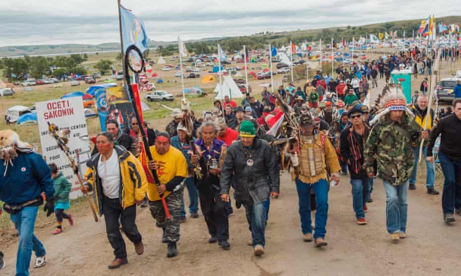 North Dakota pipeline protest