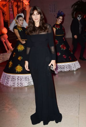 Monica Bellucci arriving at the after party
