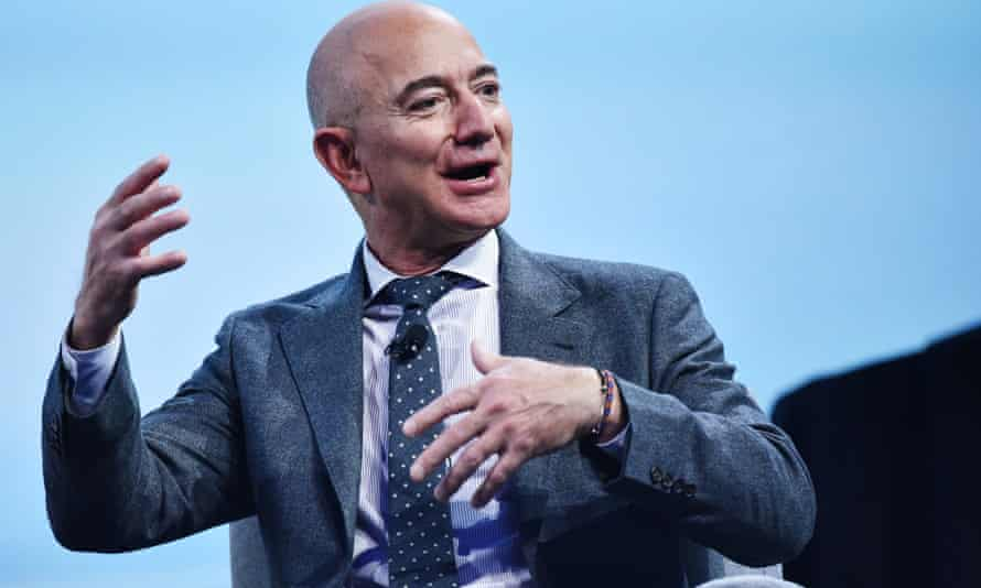 Jeff Bezos said he was reminded of Earth's fragility when he went into space with Blue Origin.