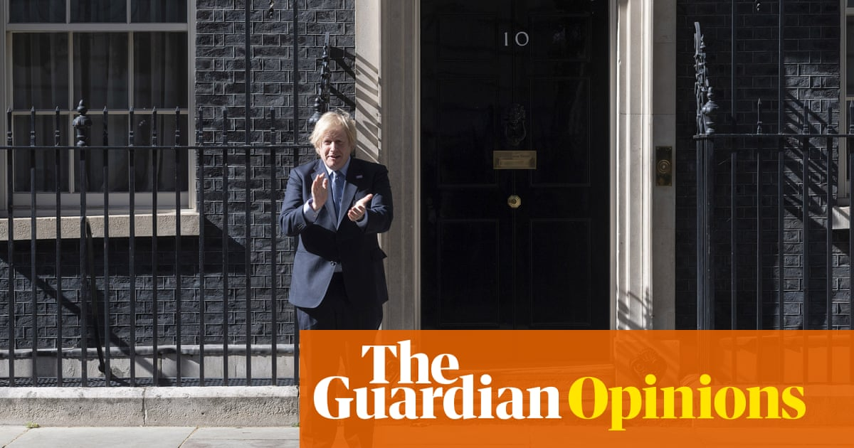 If Johnson didn't believe the 'NHS overwhelmed stuff', why was he clapping?