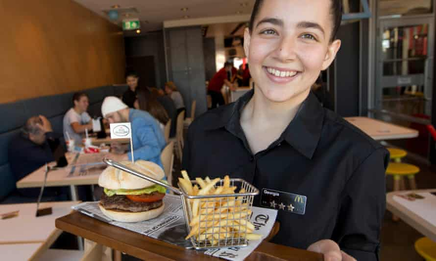 Table service has already been tested in Australia, pictured, and mainland Europe and is aimed at enticing young families.