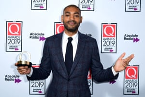 Kano, who won outstanding contribution to music at the 2019 Q awards.