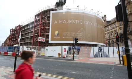 Building work continues at Channel 4's new headquarters in Leeds