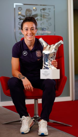 Bronze with the Uefa Women's Player of the Year award