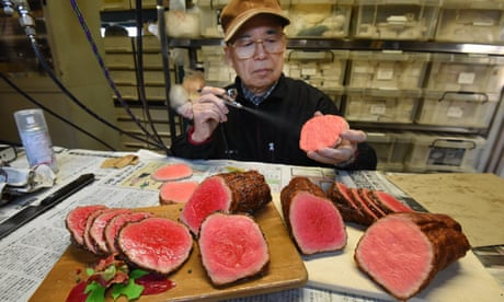 'Looks good enough to eat': inside the home of Japan's fake food industry