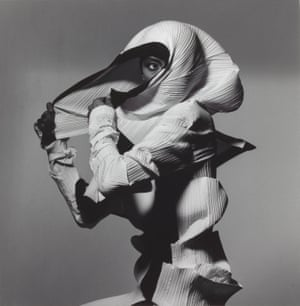 Issey Miyake Fashion: White and Black, New York, 1990, printed 1990