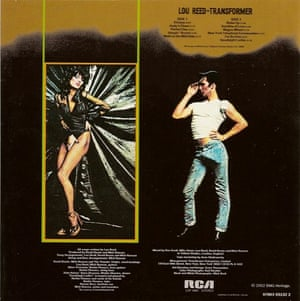 The peaked cap on the back cover of Lou Reed's 1972 album Transformer.