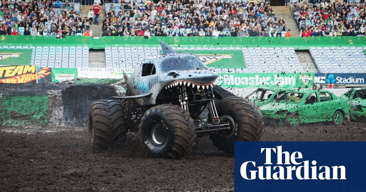 Giant Wheels Screaming Fans Monster Jam Makes A Pit Stop In Sydney A Picture Essay Culture The Guardian