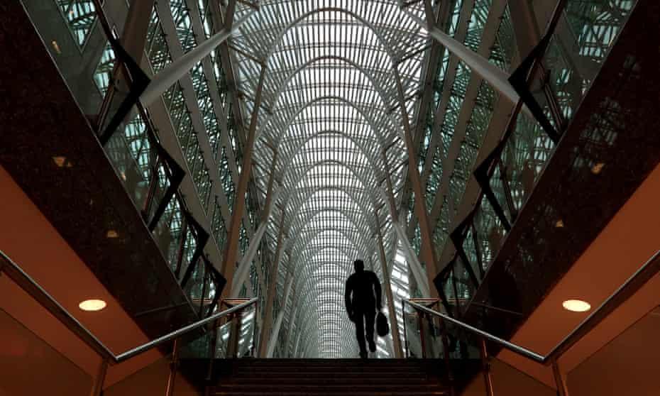The Santiago Calatrava-designed Brookfield Place office complex in Toronto.