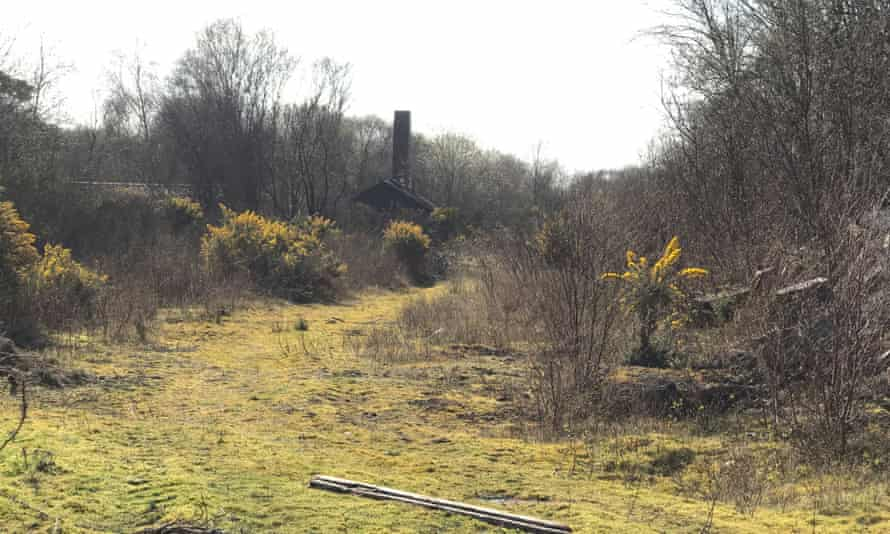 The derelict explosives factory at Ardeer