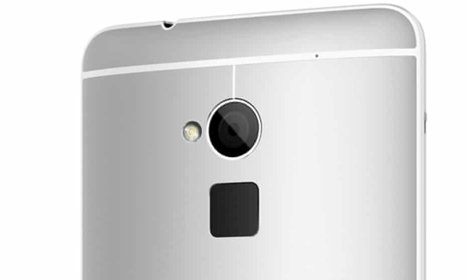 HTC One Max fingerprint scanner