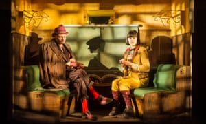 Unsettling magic … Tim Overton and Elizabeth Hay in Emil and the Detectives.