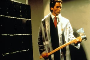 Christian Bale in the 2000 film adaptation of American Psycho.