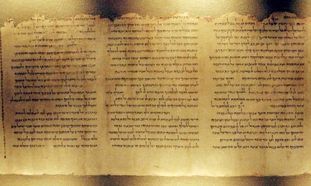 Dead Sea scrolls study raises new questions over texts' origins | Archaeology | The Guardian