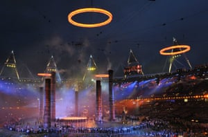 The Industrial Revolution … echoed in the 'forging' of the Olympic rings during the London opening ceremony.