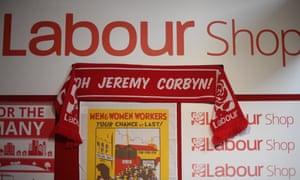 Labour shop at party conference.