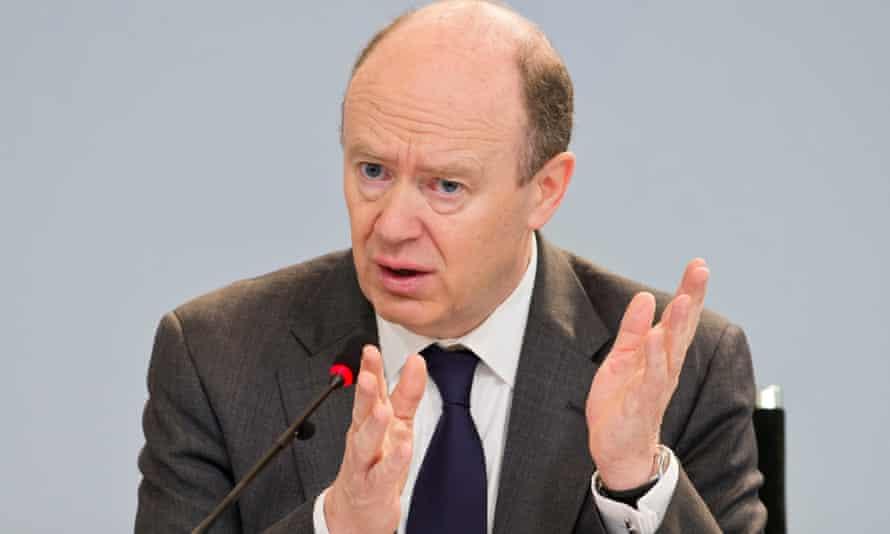 John Cryan, the chief executive of Deutsche Bank