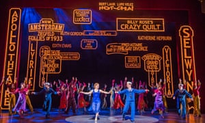 42nd Street won the award for outstanding company.