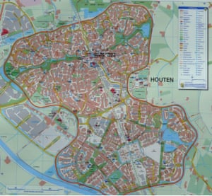 Map of Houten