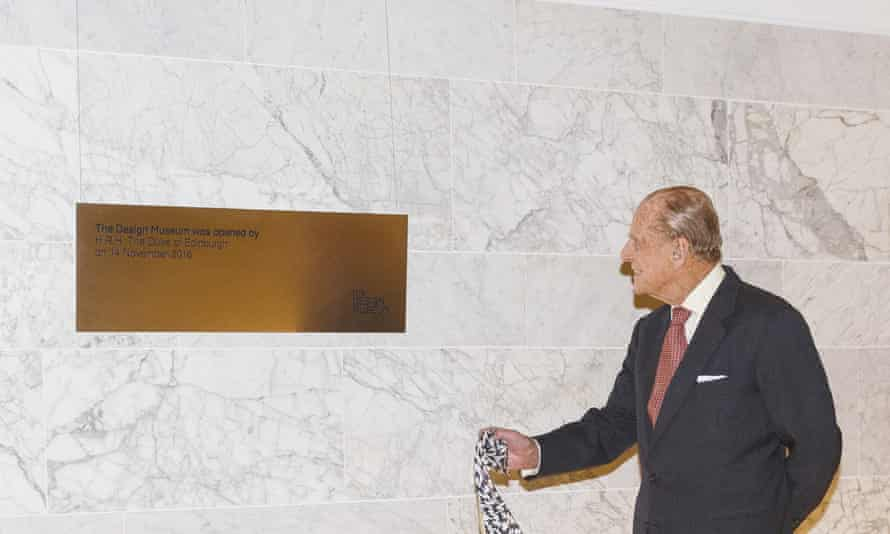 The Duke Of Edinburgh at the opening of the new Design Museum in 2016.
