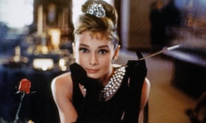Audrey Hepburn in the 1961 film of Truman Capote's Breakfast at Tiffany's, source of the original Little Black Dress.