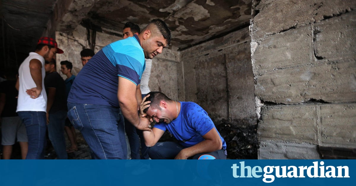 Baghdad attack: city reels from bombing – video