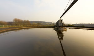 Severn Trent sewage treatment works.