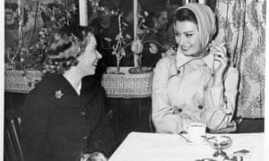Jenny Selby-Green and Sophia Loren