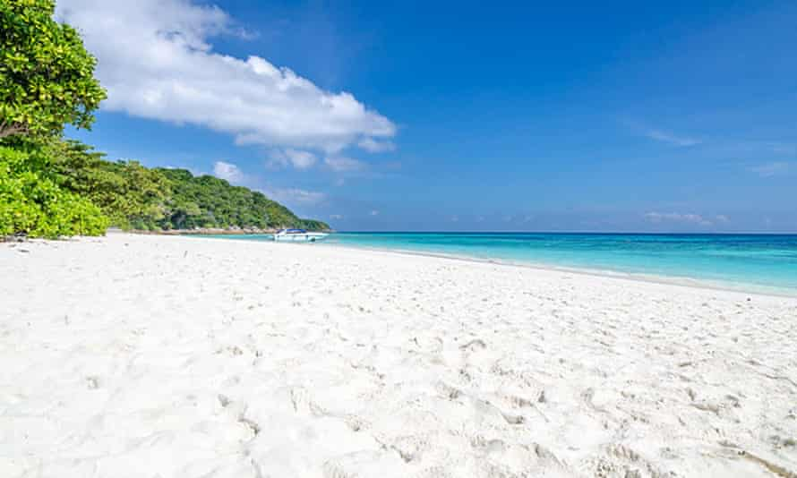The Thai government has banned tourists from Koh Tachai island.
