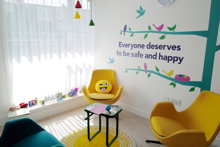 The Lighthouse's therapy room. It follows a child-centric model pioneered in Iceland 20 years ago