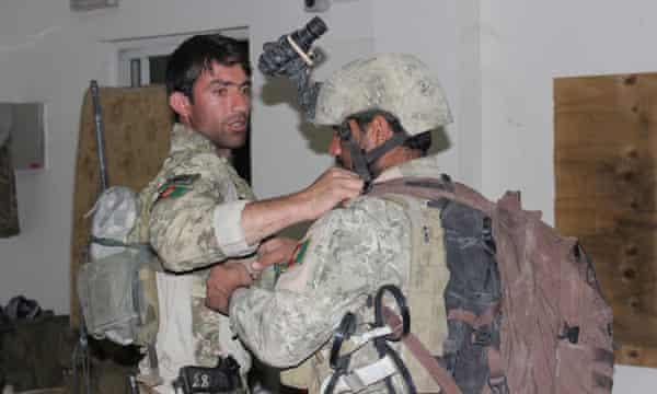 Afghan security forces prepare to retake Kunduz.