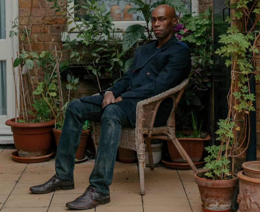 Writer Ben Arogundade in London in January 2020