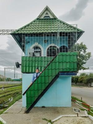 Oksana Volodymirivna Solohub, 322 km crossing, Poltava Kyivska Station, Southern Railways