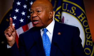 Representative Elijah Cummings, Democrat of Maryland and Chairman of the House oversight and reform committee