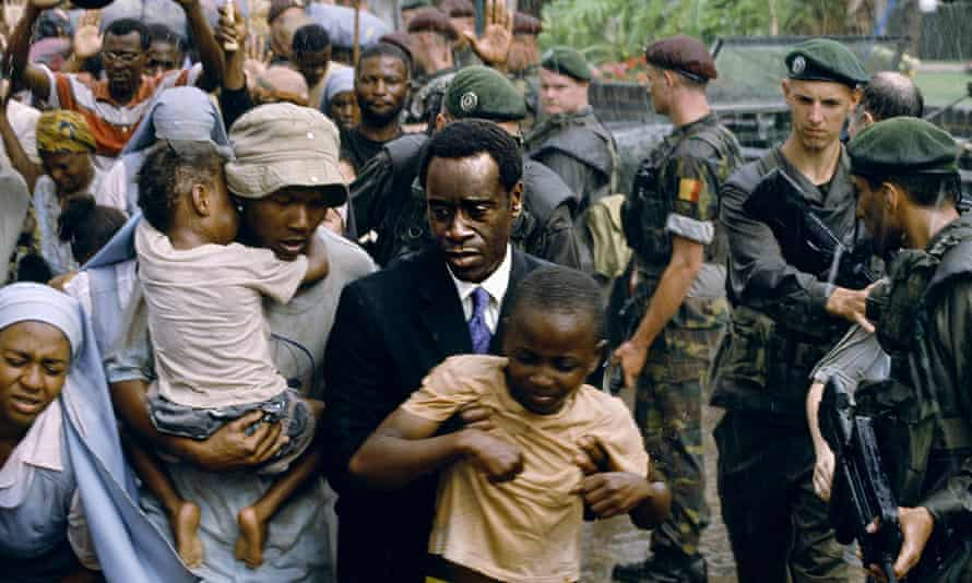 Don Cheadle in the 2004 film Hotel Rwanda