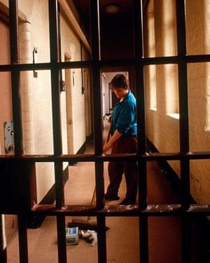 Styal women's prison, Cheshire, in 1988.