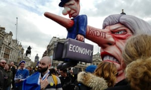 Hundreds of thousands of anti-Brexit protesters joined the Put it to the People march in London, organised by the People's Vote campaign