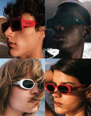 The joy of specs Looking for eye-catching and uplifting sunnies for the sunshine to come? Check out the launch of the first More Joy x Le Specs sunglasses. The cult label by designer Christopher Kane has created a unisex collection featuring updates of two classic Le Specs silhouettes, reworked in the black, white and red More Joy colour palette. Sunglasses, £75, christopherkane.com