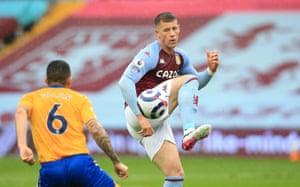 ross barkley in action against everton on thursday.