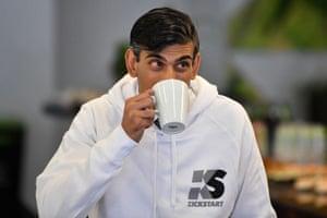 London, UKChancellorRishi Sunak launches his Kickstart employment scheme