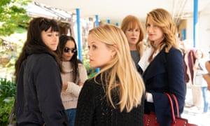 Shailene Woodley, Zoë Kravitz, Reese Witherspoon, Nicole Kidman and Laura Dern in the second season of Big Little Lies