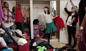Netflix has another hit on its hands with Tidying up with Marie Kondo.
